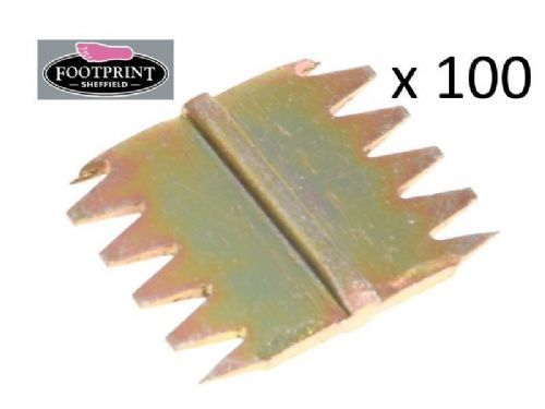 "100 x Footprint Tools Scutch Chisel Combs 25mm 1"" Wide Bulk Pack Sheffield UK"